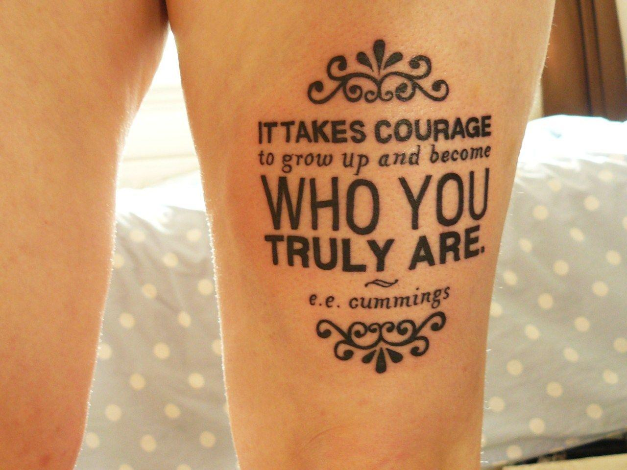 "Foto: Reprodução / <a href=""http://typographictattoos.tumblr.com/post/5739012893/fuckyeahtattoos-this-was-done-24-hours-ago-on"" target=""_blank"">Typographic tattoos</a>"