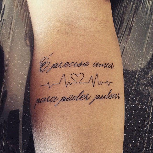 Tatuagens Escritas Trechos E Frases Para Inspirar Sua Tattoo