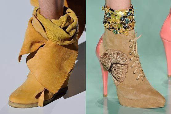 fashion rio 20 Tendências de sapatos para o inverno 2012