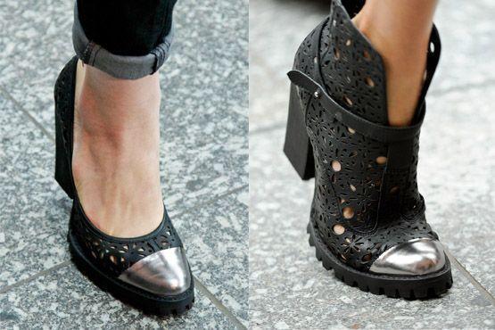 sapato tendencia 2012 1 Tendências de sapatos para o inverno 2012