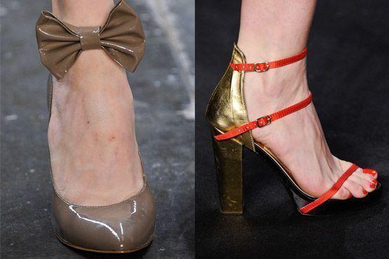 sapato tendencia 2012 12 Tendências de sapatos para o inverno 2012