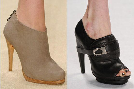sapato tendencia 2012 3 Tendências de sapatos para o inverno 2012