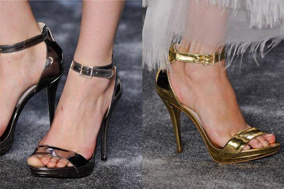 sapato tendencia 2012 5 Tendências de sapatos para o inverno 2012