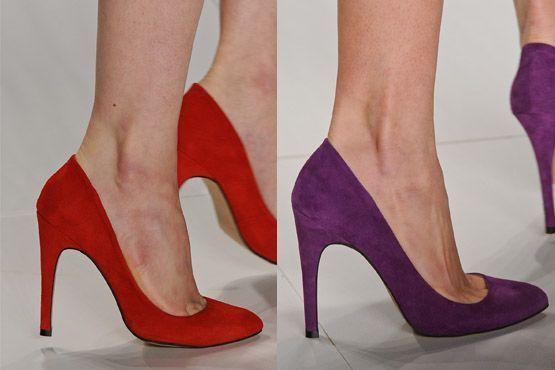 sapato tendencia 2012 7 Tendências de sapatos para o inverno 2012