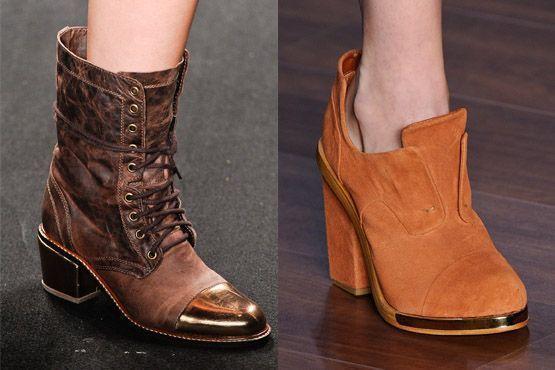 sapato tendencia 2012 8 Tendências de sapatos para o inverno 2012