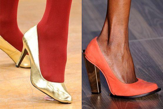 sapato tendencia 2012 9 Tendências de sapatos para o inverno 2012