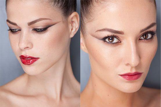 make inverno 2012 1 Tendências de maquiagem inverno 2012