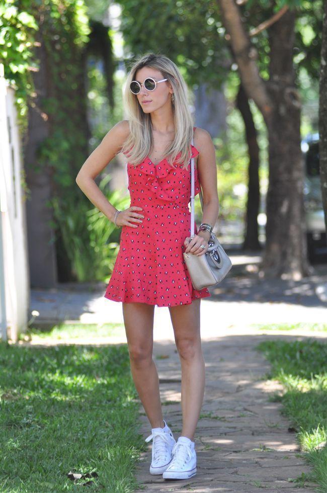 """Foto: Reprodução / <a href=""""http://www.glam4you.com/dicas-de-moda-looks-com-tenis-branco/"""" target=""""_blank"""">Glam4you</a>"""
