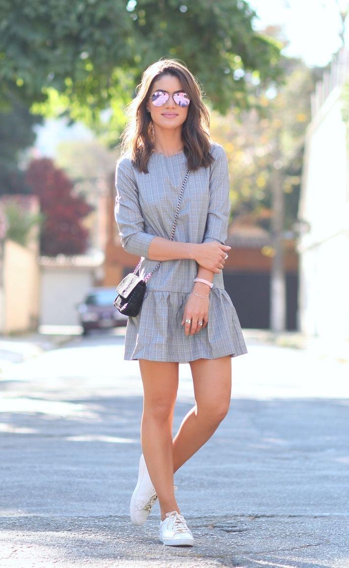 """Foto: Reprodução / <a href=""""http://camilacoelho.com/2015/08/04/look-do-dia-domingo-casual-vestido-e-tenis/"""" target=""""_blank"""">Camila Coelho</a>"""