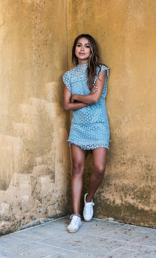 "Foto: Reprodução / <a href=""http://sincerelyjules.com/baby-blue-lace/"" target=""_blank"">Sincerely Jules</a>"