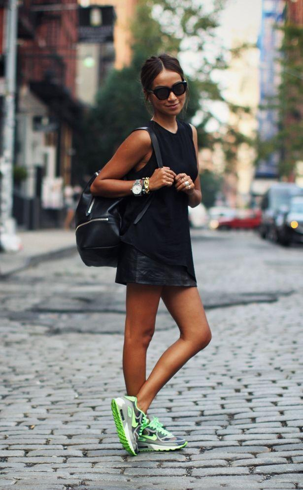 "Foto: Reprodução / <a href=""http://sincerelyjules.com/tag/nike"" target=""_blank"">Sincerely Jules</a>"