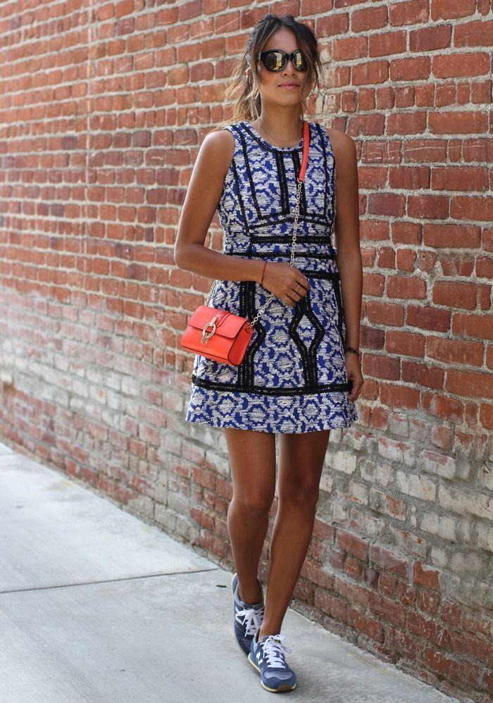 "Foto: Reprodução / <a href=""http://sincerelyjules.com/tag/new-balance-420-sneakers"" target=""_blank"">Sincerely Jules</a>"