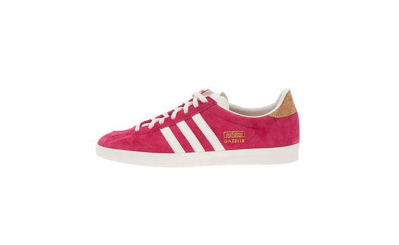 """Tênis Adidas por R$250 na <a href=""""http://www.oqvestir.com.br/tenis-adidas-originals-gazzele---rosa-55561.aspx/p"""" target=""""blank_"""">Oqvestir</a>"""