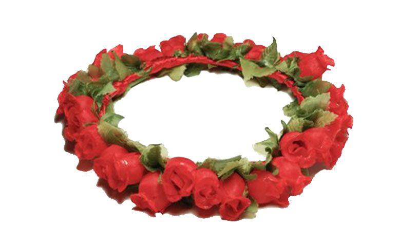 """Tiara rosas vermelhas por R$49,00 no <a href="""" Airu 49,00 http://www.airu.com.br/produto/554791/coroa-de-rosas-vermelhas"""" target=""""_blank"""">Airu</a>"""