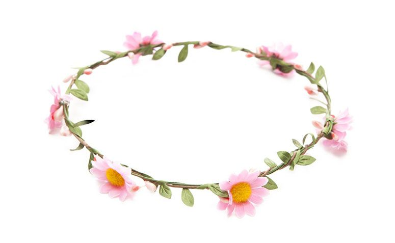 "Tiara Fina por R$29,90 na <a href=""http://amaro.com/headband-flower-power-2401.aspx/p?sku=1539001913"" target=""_blank"">Amaro</a>"
