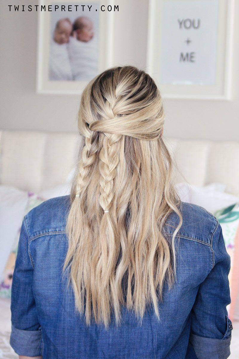 "Foto: Reprodução / <a href=""http://www.twistmepretty.com/2015/08/easy-back-to-school-hairstyle.html"" target=""_blank"">Twist me pretty</a>"