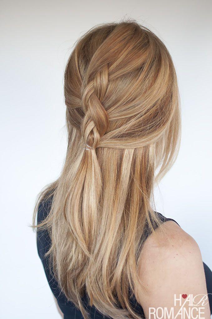 "Foto: Reprodução / <a href=""http://www.hairromance.com/2015/08/easy-everyday-hair-half-up-dutch-braid-tutorial.html"" target=""_blank"">Hair Romance</a>"