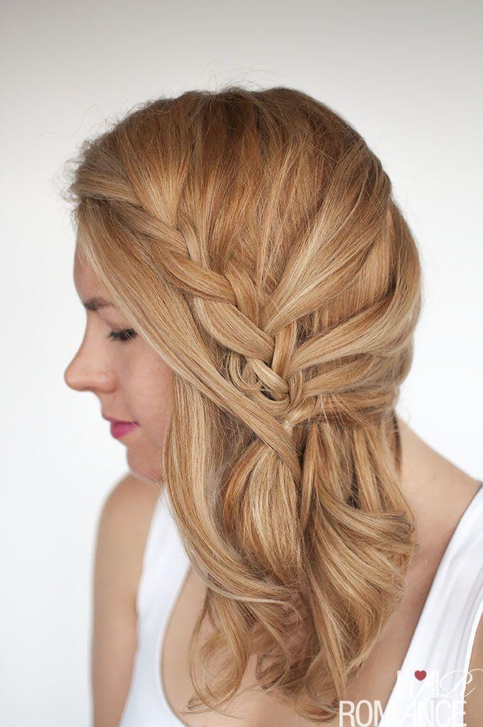 "Foto: Reprodução / <a href=""http://www.hairromance.com/2015/08/easy-lace-braid-the-side-swept-hairstyle-tutorial.html"" target=""_blank"">Hair Romance</a>"