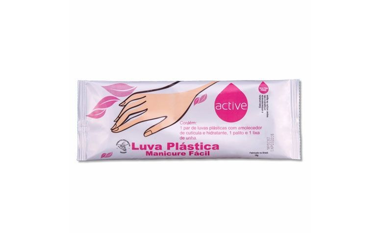 Kit moisturizing gloves with sandpaper and stick by R $ 1.85 in Panvel