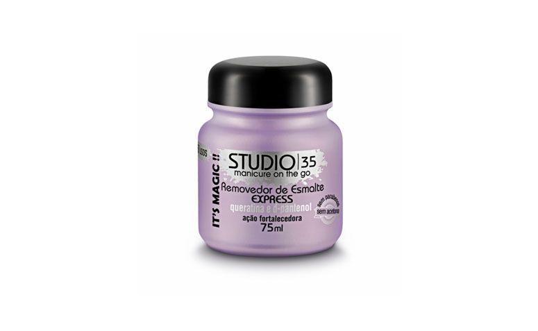 Studio 35 nail polish remover for R $ 15.15 in Panvel