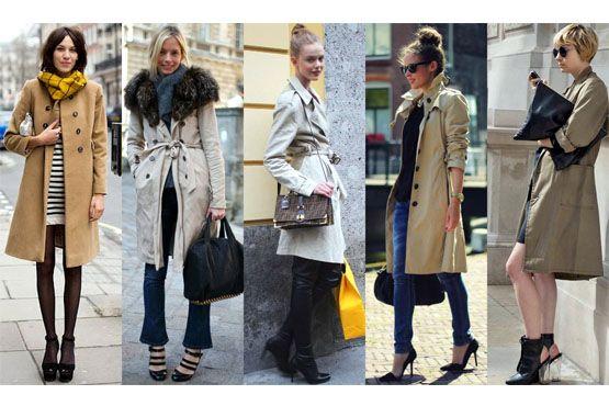 4 medios Trench coat para o inverno