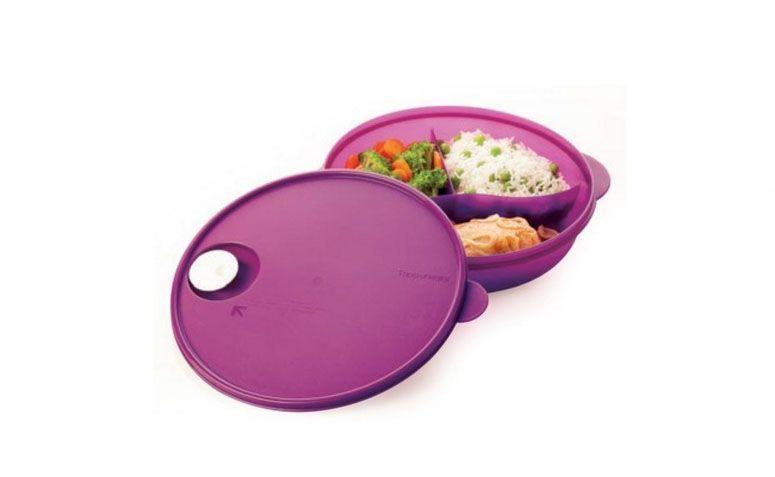 """Cristalwave com Divisórias por R$70,30 na <a href=""""http://www.mundotupperware.com.br/tupperware-cristalwave-com-divisorias-1-4-litro-roxo-geracao-3"""" target=""""blank_"""">Mundo Tupperware</a>"""