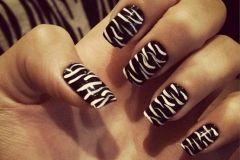 Animal print de zebra