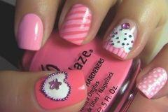 Mix de nail art fofa com cupcake