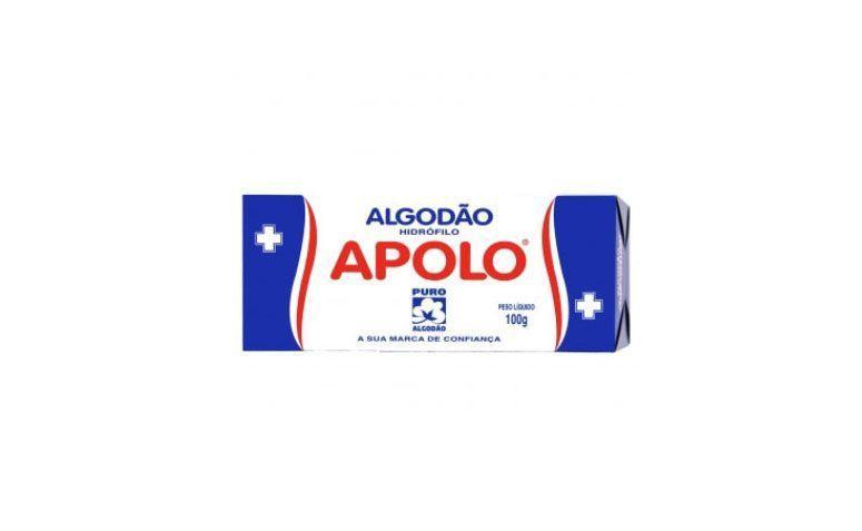 """Algodão Apolo por R$ 6,90 na <a href=""""https://manicure.meuvicio.com/Algodao/Algodao-Apolo-100g"""" target=""""_blank""""> Meu Vício </a>"""