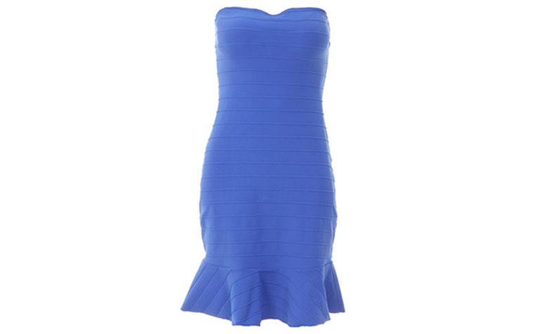 """Vestido bandagem soltinho Lança Perfume por R$299,99 na <a href=""""http://www.passarela.com.br/passarela/produto/_/R-Vestido-Bandagem-Lan-a-Perfume-02Ve237600-Azul-6400751502-10001"""" target=""""blank_"""">Passarela</a>"""