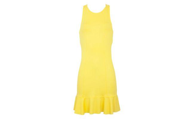 ثوب أصفر الأساسي ل 135 $ في Dafiti