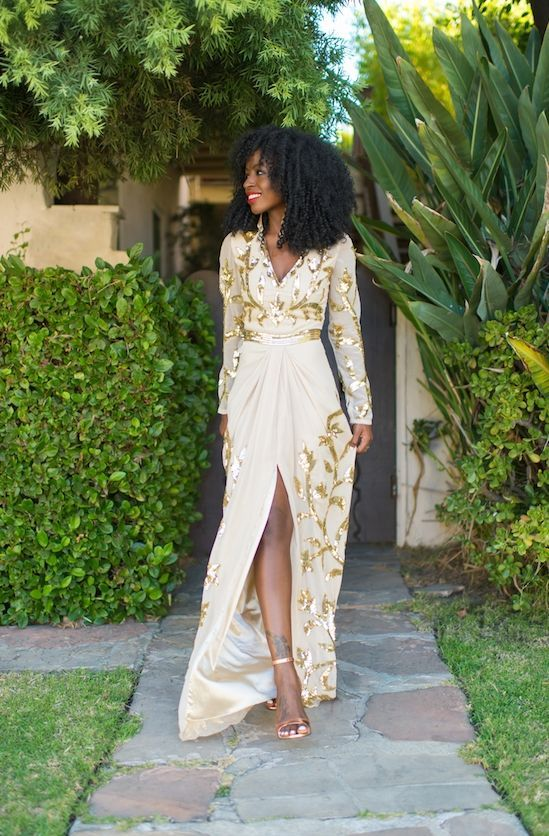 "Foto: Reprodução / <a href=""http://stylepantry.com/2014/09/02/embellished-long-sleeve-maxi/"" target=""_blank"">Style Pantry</a>"