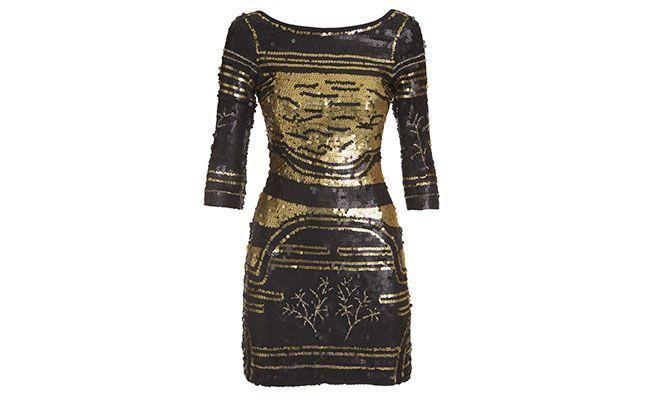 """Vestido de paetê Pop Up Stor por R$1.398 na <a href=""""http://www.shop2gether.com.br/vestido-manga-longa-bordado-decote-costas.html#"""" target=""""blank_"""">Shop2gether</a>"""