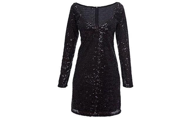 """Vestido de paetê Jo/Dri por R$400 na <a href=""""http://www.theboutique.com.br/Vestidos/vestido-mini-paete-jo-dri-preto.html"""" target=""""blank_"""">The Boutique</a>"""