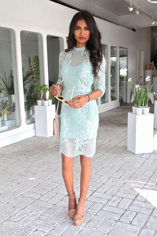 626fce59cb 90 vestidos de renda curtos das blogueiras para te inspirar