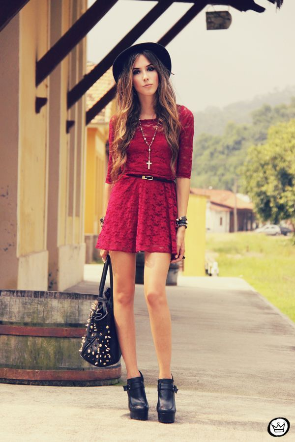 """Foto: Reprodução / <a href=""""http://fashioncoolture.com.br/2013/02/22/look-du-jour-those-dancing-days-are-gone/"""" target=""""_blank"""">Fashion Coolture</a>"""