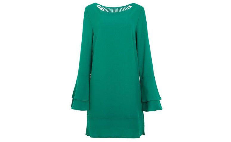 "Vestido Le Lis Blanc Deux por R$699 no <a href=""http://www.oqvestir.com.br/vestido-le-lis-blanc-deux-ana---verde-54830.aspx/p"" target=""blank_"">Oqvestir</a>"
