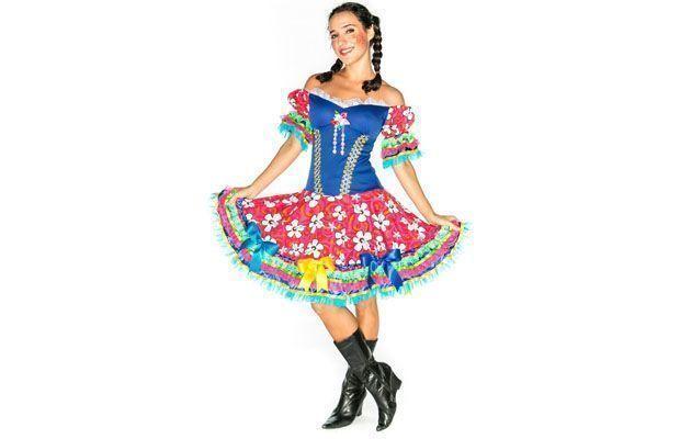 Junino sukienka do $ 185 w wolny rynek