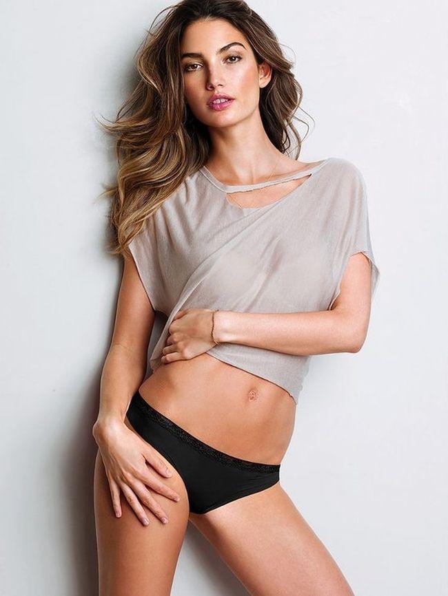 Lily Aldridge.  Foto: Divulgação / Victoria's Secret