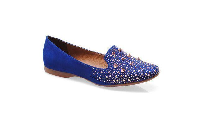 """Sapato feminino Bottero por R$119,90 na <a href=""""http://www.kinei.com.br/produto/sapato-feminino-bottero-183601-azul-klein-2.86149"""" target=""""_blank"""">Kinei</a>"""