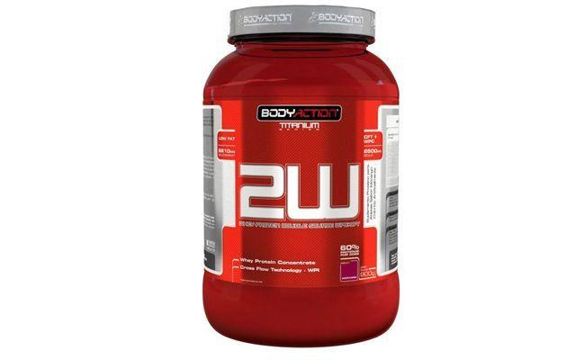 "2W Whey Protein Body Action por R$93 na <a href=""http://www.madrugaosuplementos.com.br/2w-whey-protein-900g-body-action"" target=""blank_"">Madrugão Suplementos</a>"