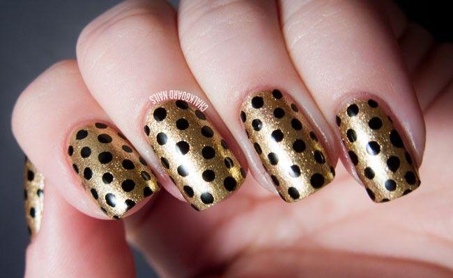 Foto: Reprodução / Chalkboard Nails