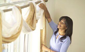 Como limpar cortinas, tapetes e carpetes