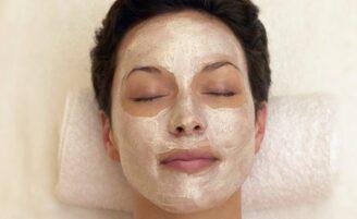 Máscara para pele manchada