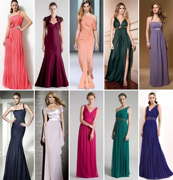 vestidos madrinhas longos Vestidos para madrinhas