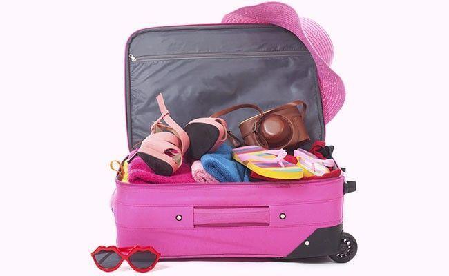 Resultado de imagem para mala de viagem organizada