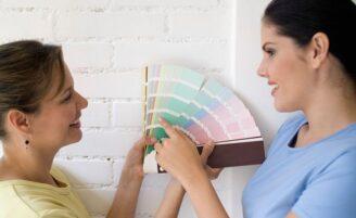 Como escolher a cor certa para parede
