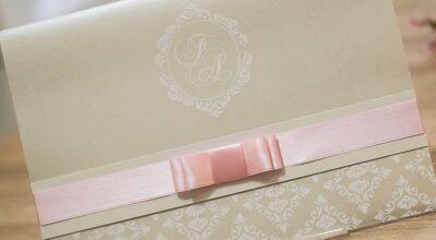 Convites de casamento: como escolher o modelo perfeito para sua cerimônia
