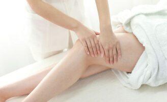 Bandagem corporal caseira