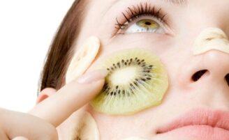 Máscara de frutas para o rosto